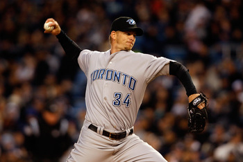 AJ Burnett had his biggest season for the Toronto Blue Jays