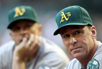 Bob Melvin has a tough lineup card to make