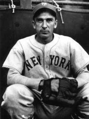 Carl Hubbell was the Giants' ace in the 1930s (carlhubbell.com)