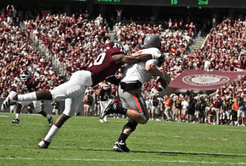 Sean Porter (Photo Courtesy of Texas A&M athletics)