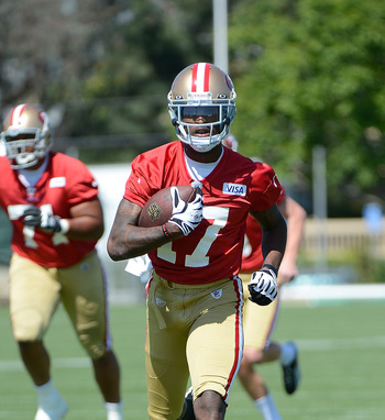 Jenkins admitted to being a bit out of shape during 49ers minicamp.