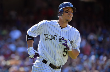 Carlos Gonzalez keeps launching baseballs out of Coors Field.