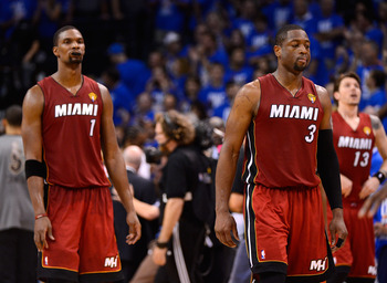 Chris Bosh is among the Big 3, so why not start him?