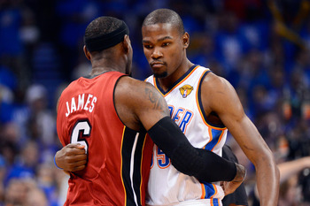 These are the two top players in the NBA, so why not have them match up on both ends?