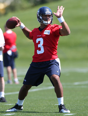 Wilson's the number three QB for now.