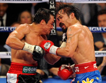 Marquez and Pacquiao, long-time rivals at it again