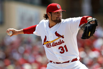 Lance Lynn has struck out 23 batters in his past two starts.