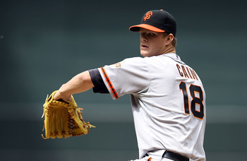 Matt Cain has thrown 90 innings, tops in baseball.