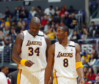 2002 was the last time that Shaq and Kobe celebrated a title together.