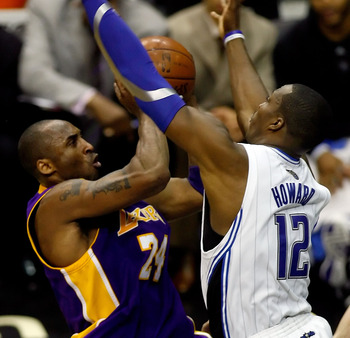 Kobe Bryant and Dwight Howard faced-off in the 2009 Finals.
