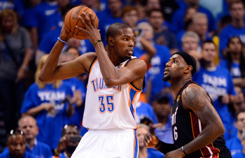 LeBron and Durant are facing off in a heavily anticipated matchup.