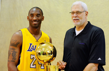 Final ring? It might be for Phil Jackson and Kobe Bryant.