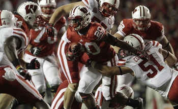 Wisconsin has two great running backs, and Nebraska will have to stop both of them to win in Lincoln.