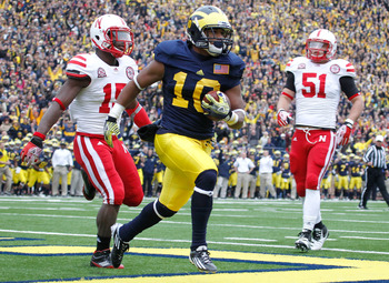 Michigan ran and passed all over Nebraska in Ann Arbor last year. That can't happen in Lincoln this year.