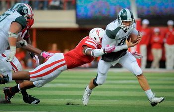 After hemming up Michigan State in 2011, Nebraska's biggest game in 2012 will be in East Lansing