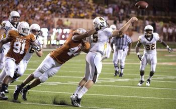 Jim Sigmon/UNIVERSITY OF TEXAS SPORTS INFORMATION