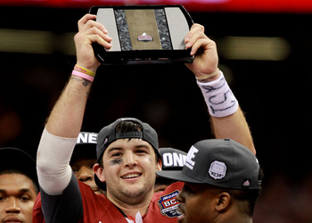 McCarron was named the BCS title game's offensive MVP after he dismantled an elite LSU defense.
