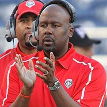 Former New Mexico Head Coach Mike Locksley will serve as Offensive Coordinator for Maryland in 2012.