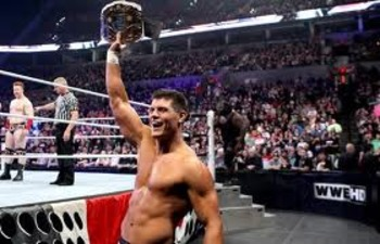 Great champion! Image by WWE