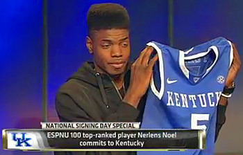 #1 Recruit Nerlens Noel Chooses Kentucky