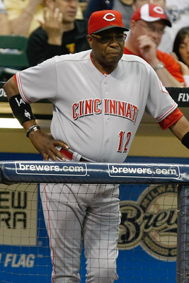 Dusty Baker's contract is just about up.