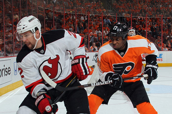 Wayne Simmonds had the best season of his career after being traded to the Philadelphia Flyers