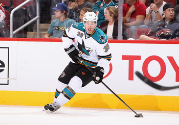 Logan Couture has developed into an offensive mainstay for the San Jose Sharks