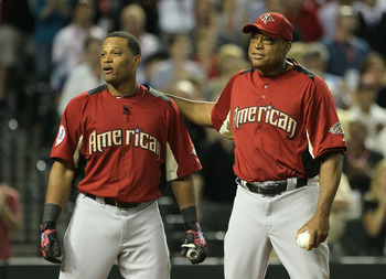 Jose threw to Robinson for the 2011 Home Run Derby.