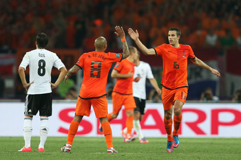 Robin van Persie and the Netherlands have looked awful, but they're still in it.