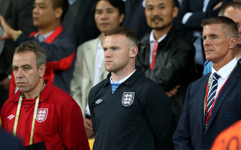 Rooney's two-game suspension hasn't hurt the English as much as anticipated.