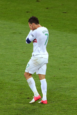 Ronaldo has been crushed by pressure to succeed for Portugal.