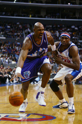 Karl Malone, NBA's second leading scorer