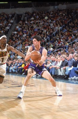 John Stockton, NBA's all time assists and steals leader