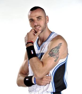 25 weirdest tattoos in the nba today bleacher report for Kyrie irving tattoos shoulder