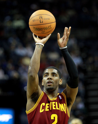 Kyrie Irving is a deadly jump shooter.
