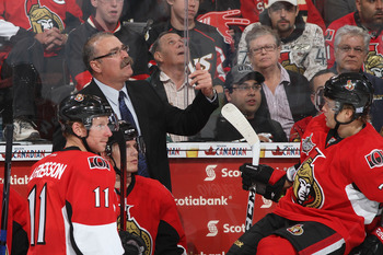 Paul Maclean lead the Sens back to the playoffs, a must if you are going to coach hockey in Canada.
