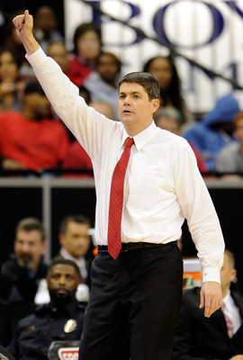 UNLV head coach Dave Rice.
