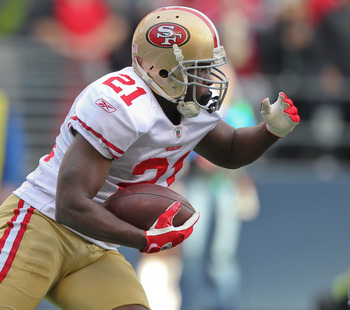 Frank Gore rushed for over 1,200 yards in 2011
