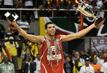 Salah Mejri gives Tunisia size that will allow it compete. (FIBA Images)