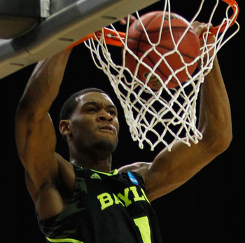 Houston will hope that Perry Jones III is a slam-dunk at No. 18.