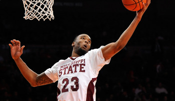 Mississippi State's Arnett Moultrie is one of the most athletic big men available.