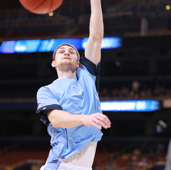 Tyler Zeller, ability to run the floor, and knock down free-throws will be tough for the 76ers to pass up.