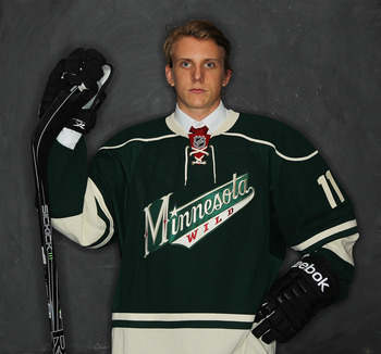 Jonas Brodin was Minnesota's first-round selection in 2011. Who will it be this year?