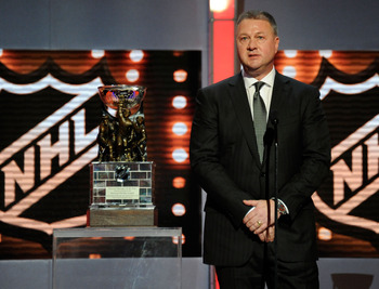 2011 Winner, Mike Gillis of the Vancouver Canucks