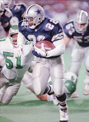 Emmitt was completely unstoppable.