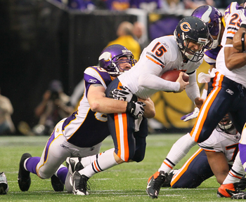 Jared Allen registers another sack in 2011.