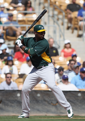 Carter has been in the A's farm system for the past few years.