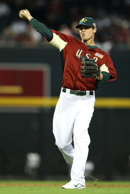 Green, listed as an outfielder on the River Cats website, played shortstop in the Futures' game last year.