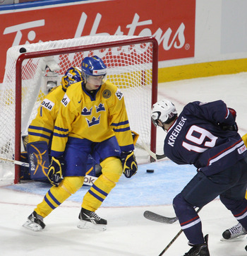 Fredrik Larsson's shot-blocking ability makes him a solid prospect.