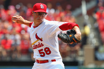 Joe Kelly's fastball touches 98-100 mph when used in relief. He keeps it around 91-95 mph as a starter.